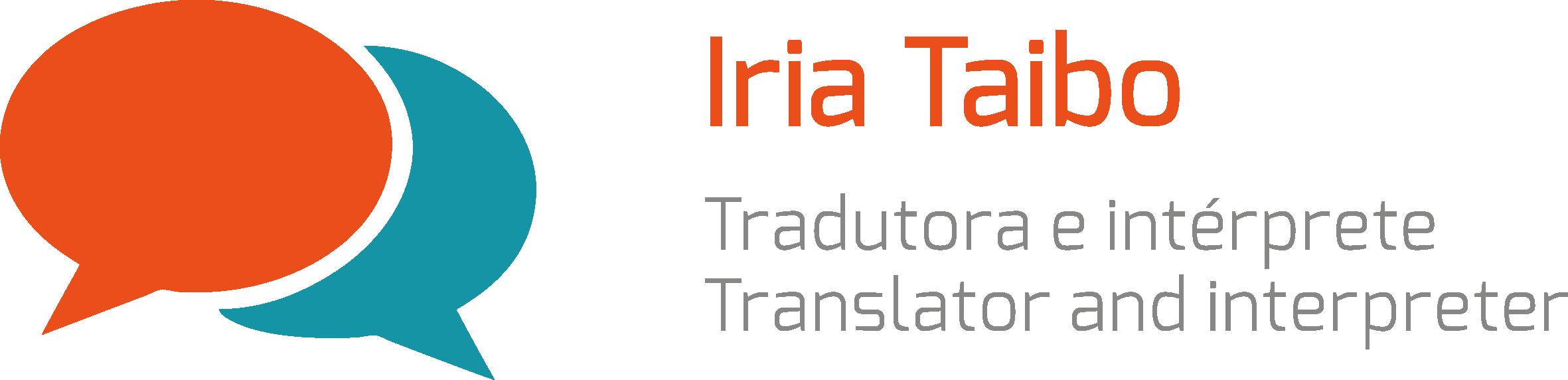 Logo Iria Taibo Traducción e Interpretación